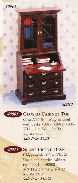Catalog image of Chippendale Closed Cabinet Top