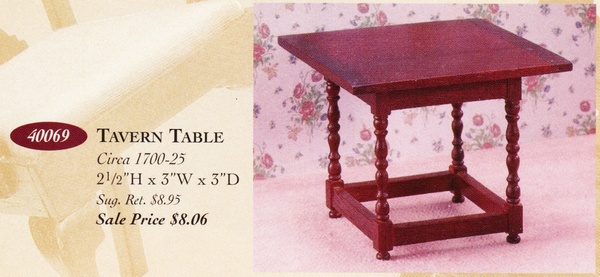 Catalog image of Tavern Table