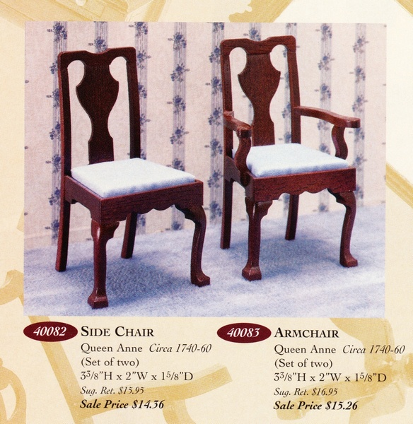 Catalog image of Queen Ann Side Chair (2)