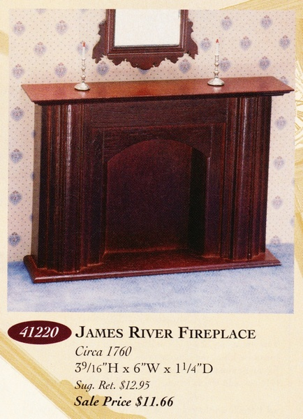 Catalog image of James River Fireplace